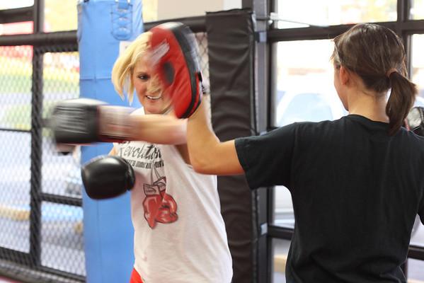 Kickboxing Workshop with Steve Snyder 09.23.11