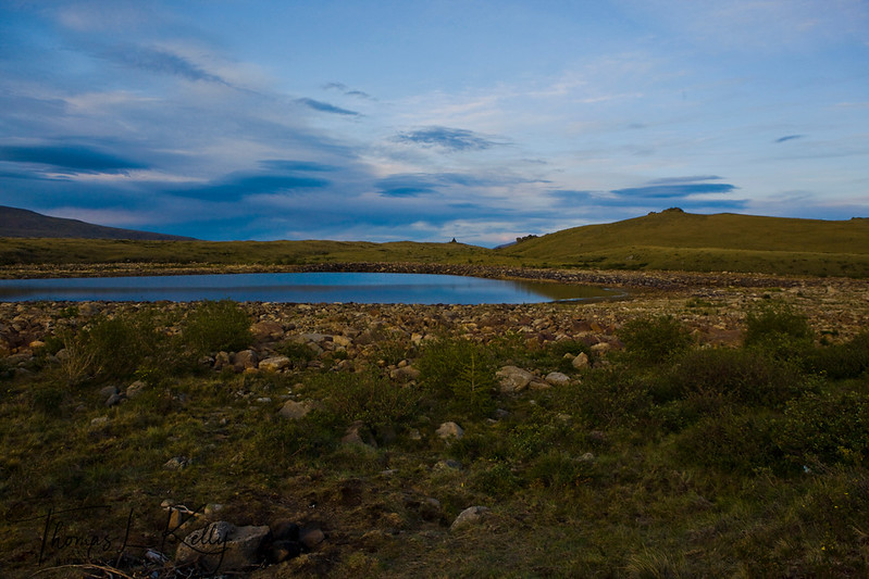 Trip to Blue Lake. Mongolia.