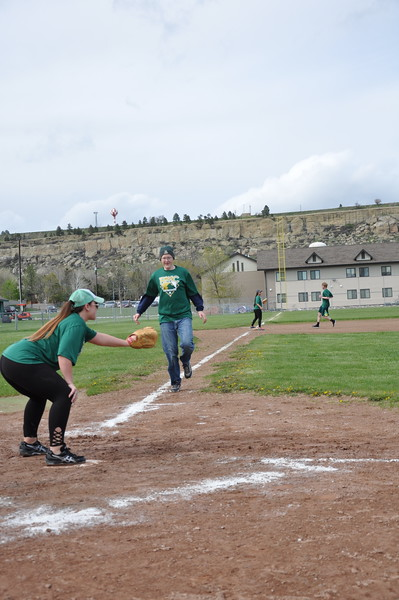 Students vs. Staff Softball Game 2017
