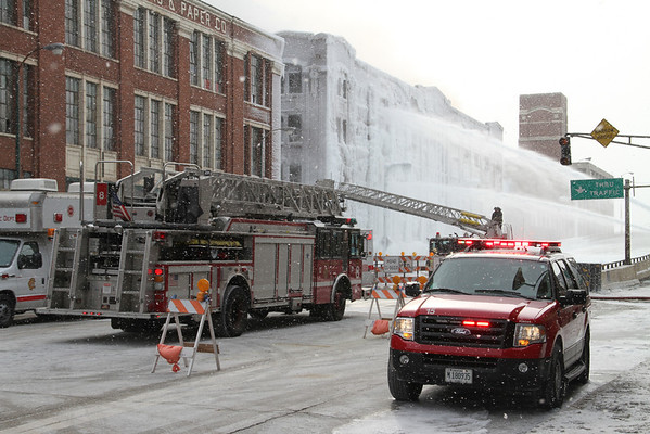 """THE RUINS"" OF THE 5-11 ALARM 3757 ASHLAND ""THE ICE CASTLE"" (01-24-2013)"