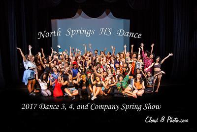 Cast -  2017 Dance Spring Show