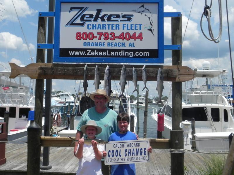 Cool Change Charters - July 20, 2011