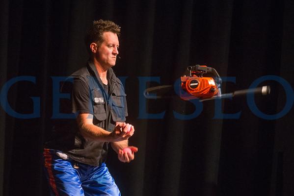 Chainsaw Juggler