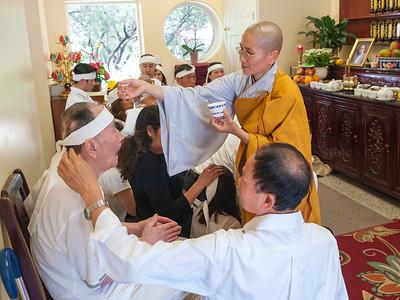 Chinh Thi Pham 49 Day Ceremony