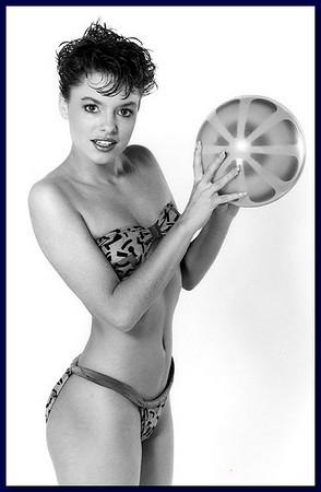Swimsuit model, 1986