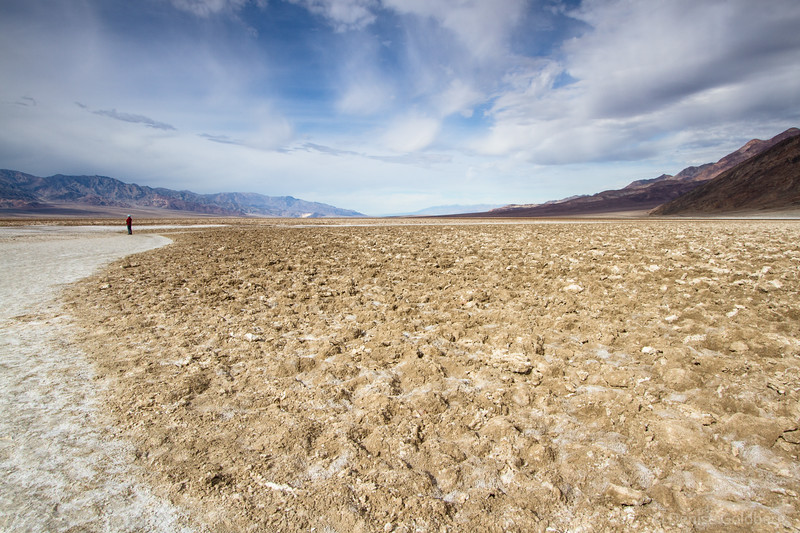at Badwater, Death Valley National Park