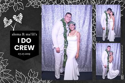 Ma'ili & Alema's Wedding (Magic Mirror Photo Booth)