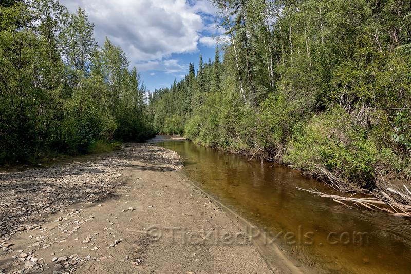 Site of Discovery Claim on Bonanza Creek, Yukon