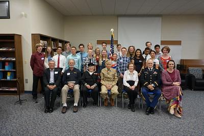8th Grade Veterans Interview
