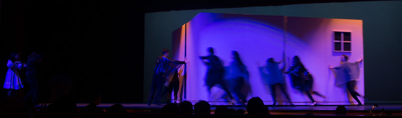 "The Tornado -- ""The Wiz"", Montgomery Blair High School spring musical, March 26, 2017"