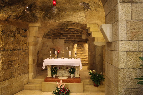Basilica of the Annunciation, Nazareth, Israel - May, 2010