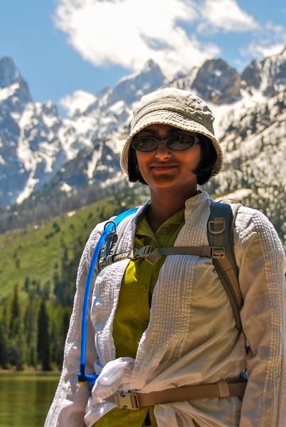 Bhumisha at Leigh Lake