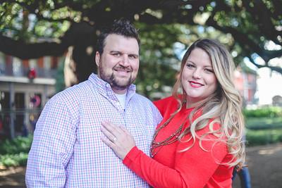 Stephanie + Patrick Engagements