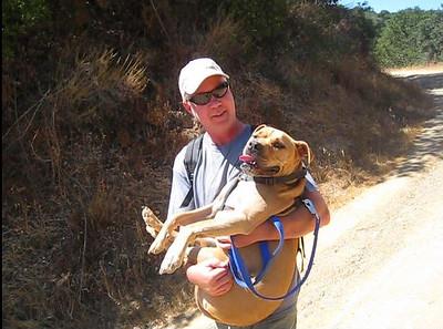 Loel and Judy Hiking