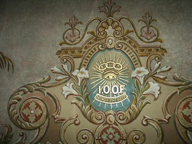 I.O.O.F detail