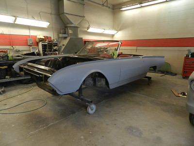 1962 Ford Thunderbird M Code Sports Roadster - Joe Arrotta...... ..