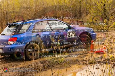 27 Salus, Kai WRX Wagon Blue Stuckered