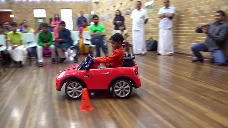 Yuvan Car Stunt