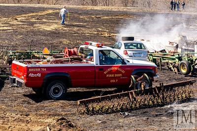 03-08-20 - Jackson Twp. FD - Grass Fire