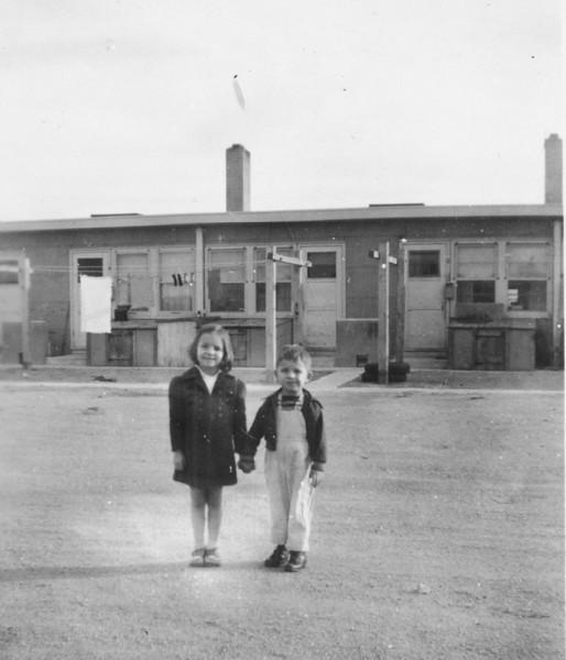 George and Cherry Burgin in Cheyenne , Wyoming