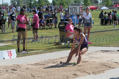 Long Jump Girls - 2016 MHSAA LP D1 TF Finals