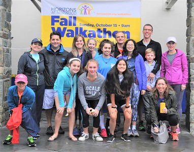 A Fall Walkathon to Benefit Horizons