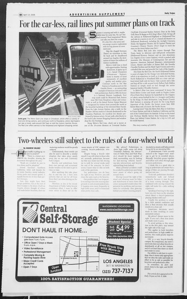 Daily Trojan, Vol. 157, No. 57, April 13, 2006