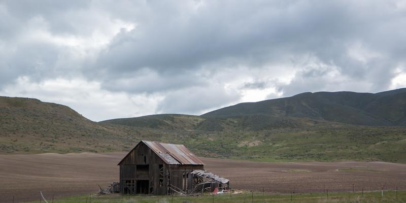 Northern Utah I-84 Old Barn