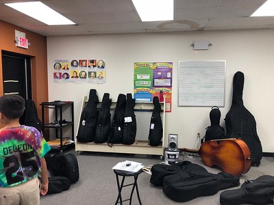 2018-19 Orchestra room makeover