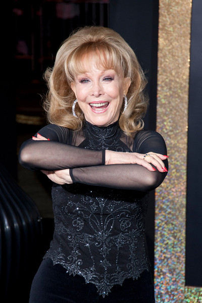HOLLYWOOD, CA: Actress Barbara Eden arrives at the Premiere of Warner Bros. Pictures' 'New Year's Eve' at Grauman's Chinese Theatre. Photo taken on Monday, December 5, 2011 by Tom Sorensen/Moovieboy Pictures.