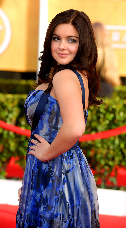 . Ariel Winter arrives at the 20th Annual Screen Actors Guild Awards  at the Shrine Auditorium in Los Angeles, California on Saturday January 18, 2014 (Photo by Michael Owen Baker / Los Angeles Daily News)