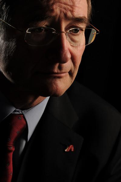Christoph Leitl, ministro da fazenda da Austria, 2012, São Paulo, Brasil.