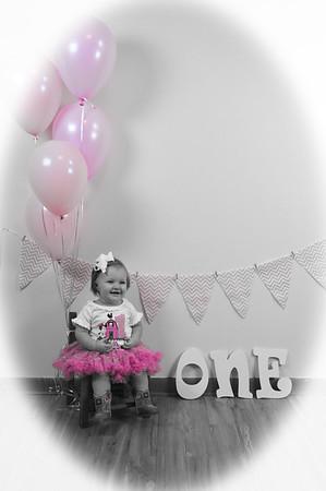 Ava Moore's 1st Birthday