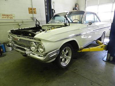 "1961 Chevrolet Bel Air ""Bubble Top"" Clay and Scottie Julian"