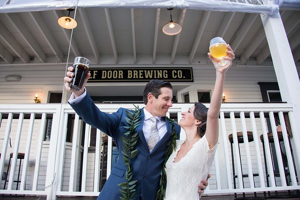 Half Door Brewing Co Gaslamp San Diego Wedding 92101 - D&T
