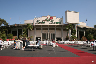 CHS ALUMNI 2008 GALA @ ROSE BOWL • CLEAN UP
