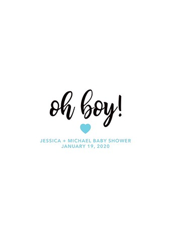 Jessica & Michael's Baby Shower 2020