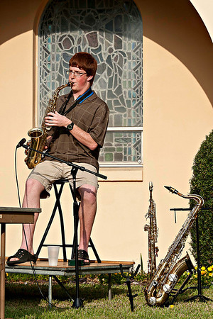 Jazz Concert On The Lawn 3-20-2011