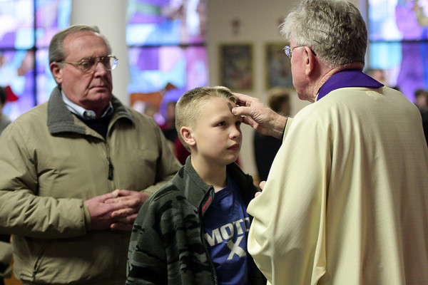 Ash Wednesday at Holy Martyrs