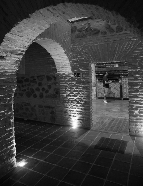 Mujedar basement, Museo de Santa Cruz, Toledo