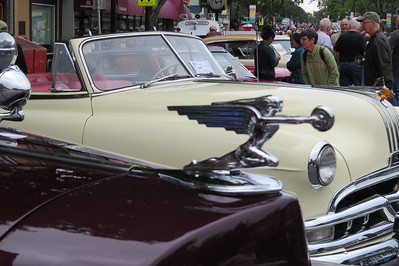 Oak Bay  Collector Car Show  2017 - Car Mascots, Dogs and More