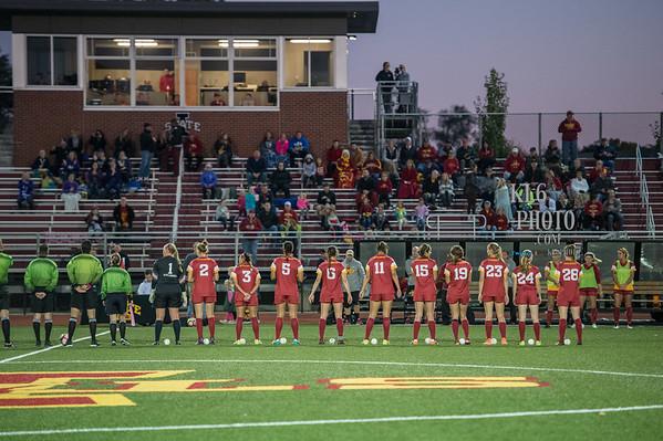ISU Soccer vs TCU 10/07/16