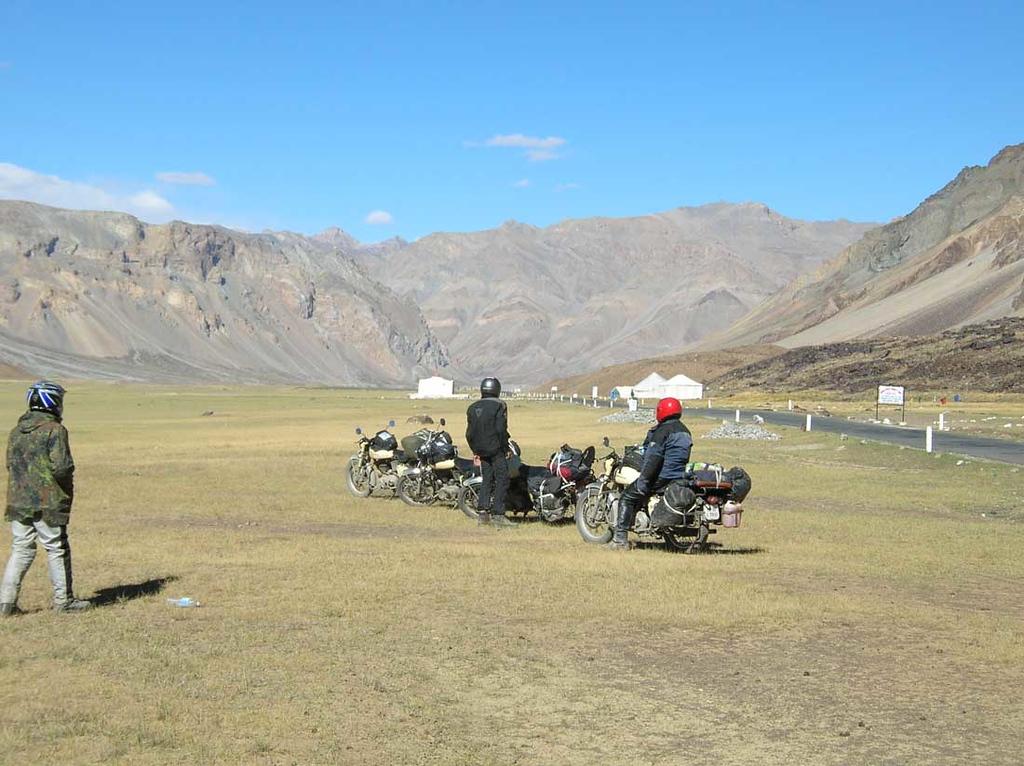 Sarchu, 4200 m.