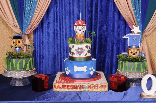 Aajeeshan - 1st Birthday