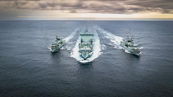 First Navy Trials