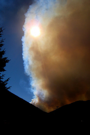 Ketchum Forest Fire