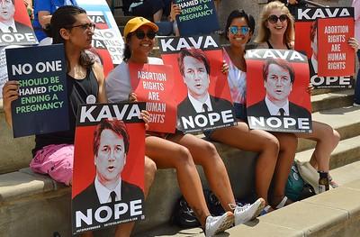 """""""Stop Kavanaugh"""" Rally - Denver 8/26/18"""