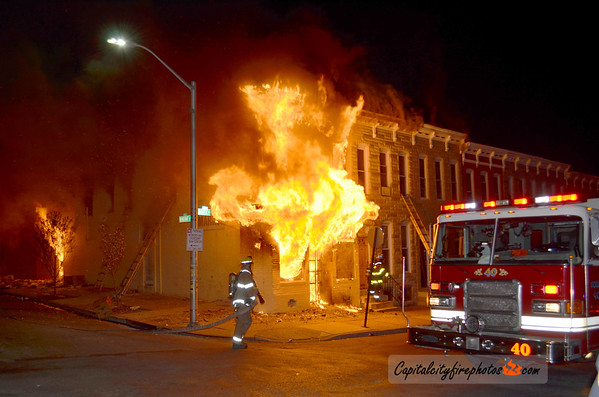 April 27-28, 2015 - Baltimore, MD - Civil Unrest Fire Activity