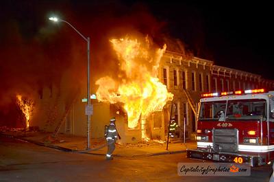April 27-28, 2015 - Baltimore, MD - Civil Unrest Fire Activity