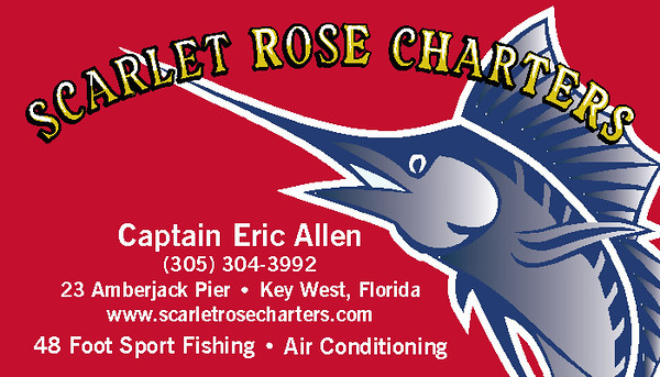 Scarlet Rose Charters Business Card